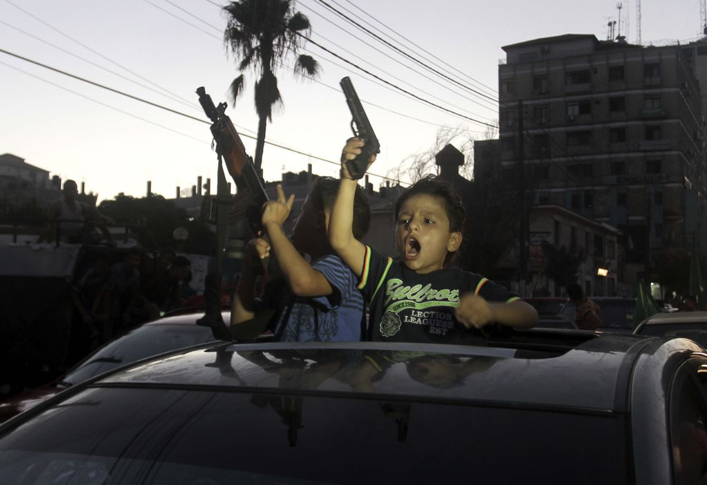 Gaza: Celebrations After Ceasefire