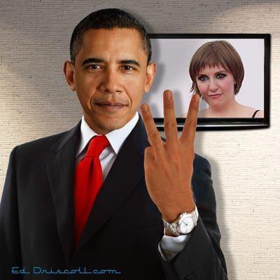 obama_three_fingers_lena_dunham_1-6-15-1