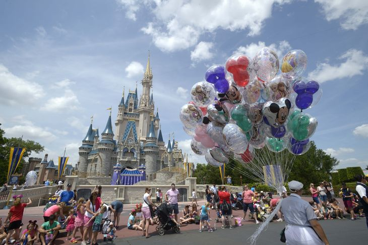 Florida Man on LSD at Disney World