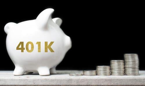 a 401k piggy bank