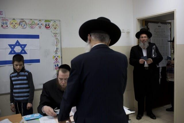 Orthodox Jews and voting