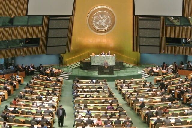 U.N. passes arms trade treaty