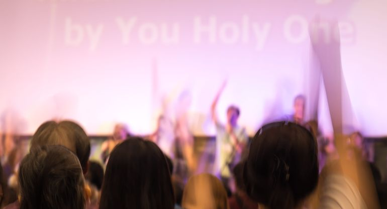 contemporary worship gestures