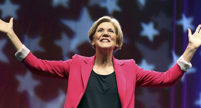 Elizabeth Warren Won't Say Joe Biden Isn't the 'Most Qualified' to be President