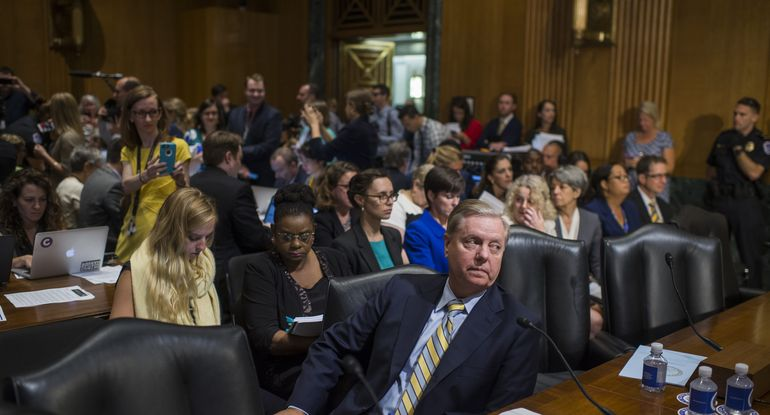 lindsey graham at senate hearing