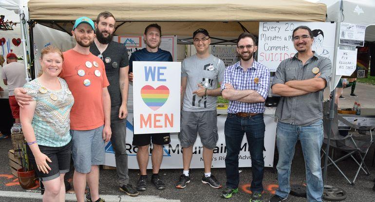 PRIDEFEST BANS MEN'S GROUP