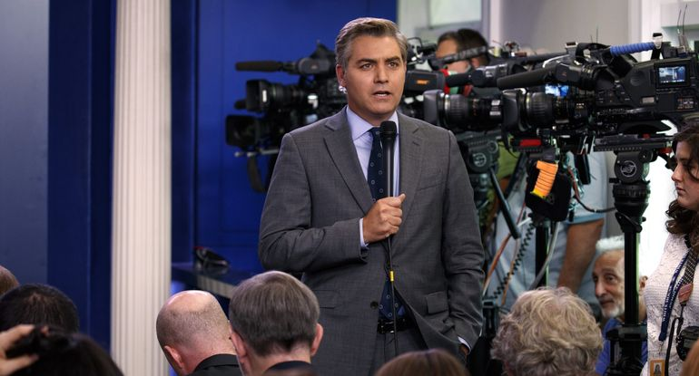 Trump Destroys CNN and Jim Acosta After Stupid Question About Russian Interference