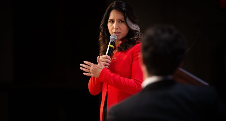 Tulsi Gabbard Destroys Her Campaign: 'We Stand United... Motivated by LOVE'