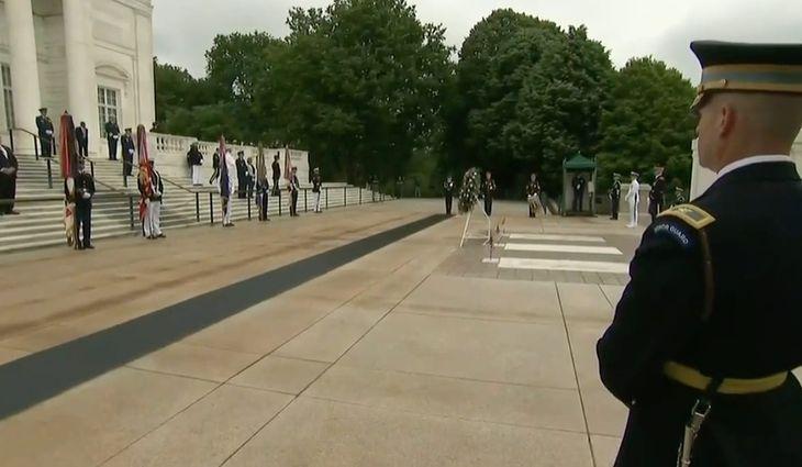 Arlington Cemetery, Memorial Day