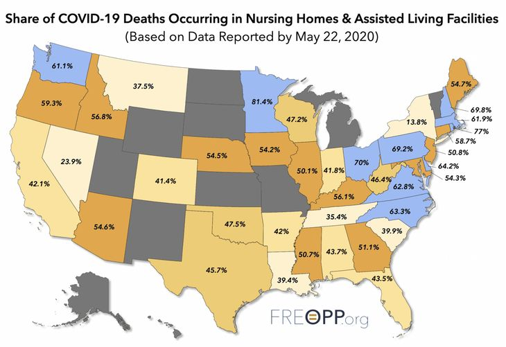 Nursing Homes COVID-19 Deaths