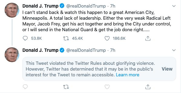 Trump tweet Twitter