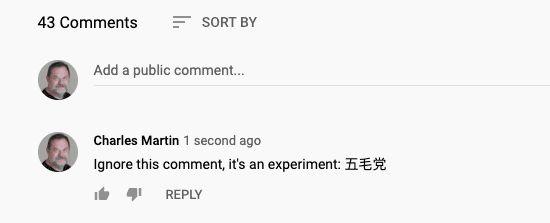 YouTube, Censorship, China