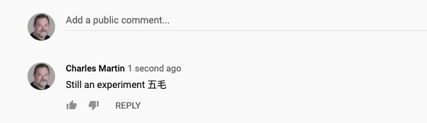YouTube Censors Chinese Propaganda name
