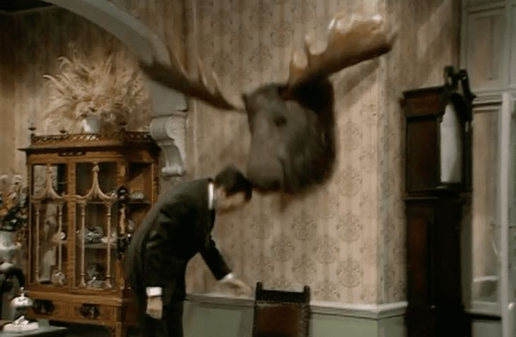 Fawlty Towers Moose Head