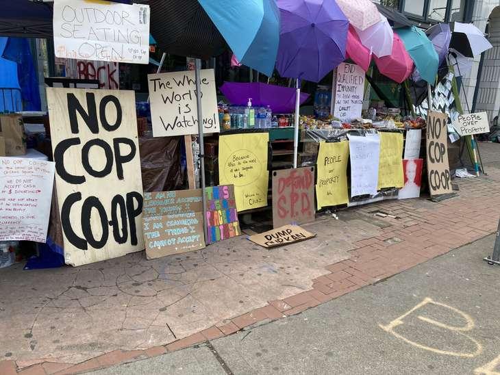 People's Republic Capitol Hill antifa
