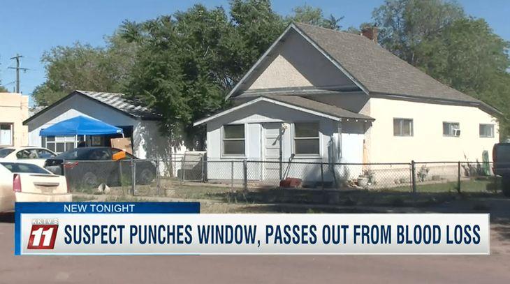 Colorado Man Punches Window