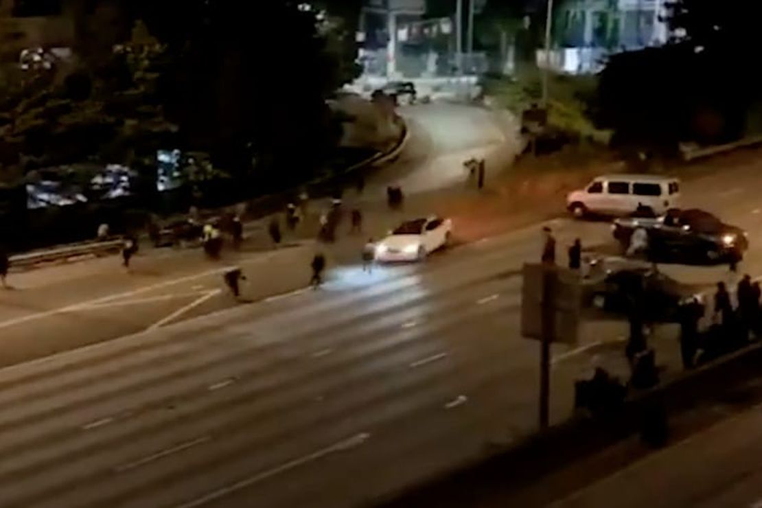 [Graphic Video] Seattle Protesters Find Out the Hard Way That It's Not Safe to Block Freeways at Night