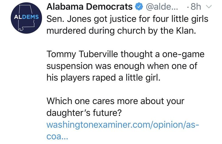Tuberville vs Alabama Democrats 3