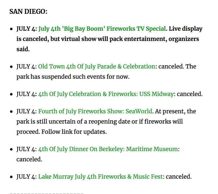 fireworks canceled