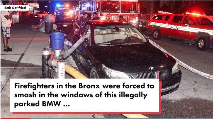 BMW Fire Hydrant