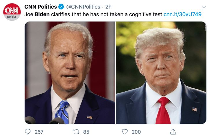 Biden and Cognitive Decline