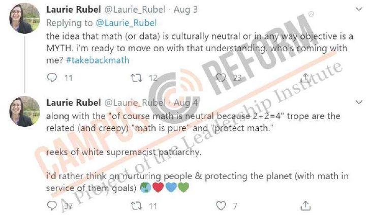 math white supremacist professor