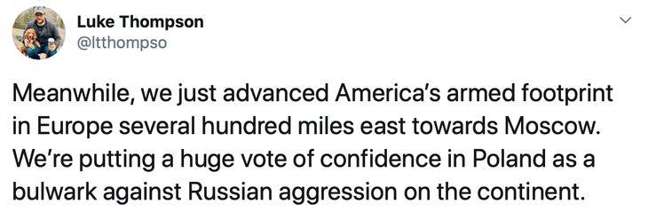 Trump and NATO and Putin