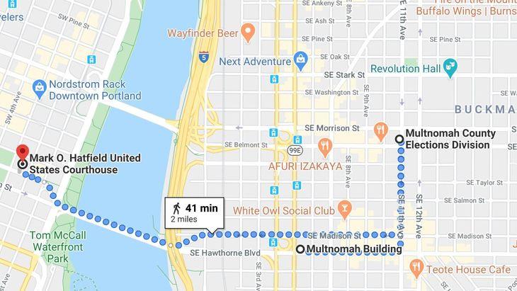antifa targets Portland