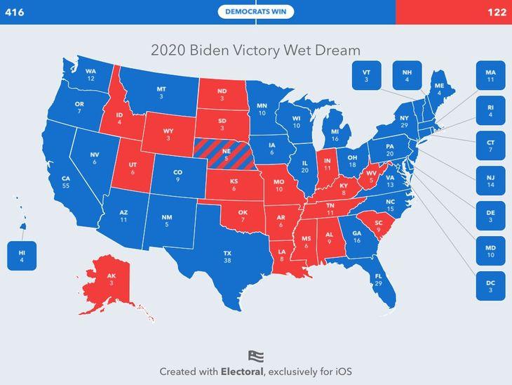 Biden Victory Demorat Wet Dream