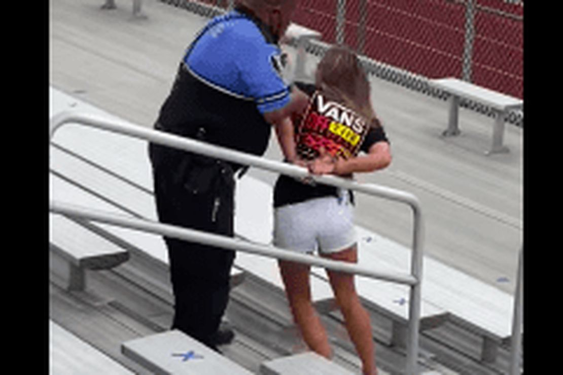 Ohio Woman Arrested and Tased For Not Wearing a Mask at Son's Outdoor Football Game