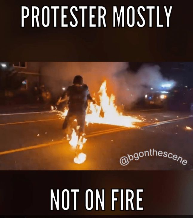 Insanity Wrap presents a Mostly Not on Fire Rioter