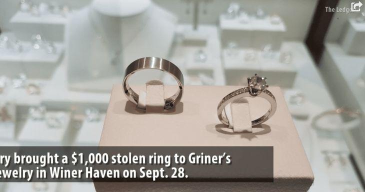Florida Woman Returns Stolen Ring She Stole