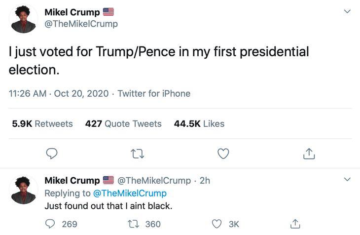 Mikel Crump Ain't Black
