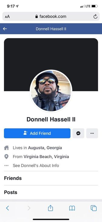 Alleged New Orleans police shooter Donnell Hassell II