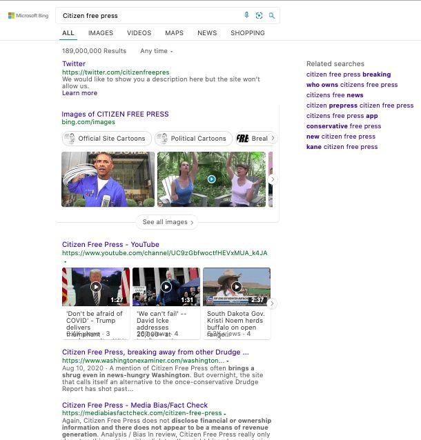Citizen Free Press Bing