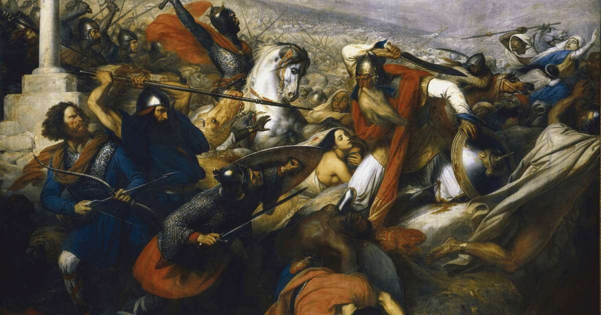 Today in History: When the West 'Manfully Resisted' Islam at Tours