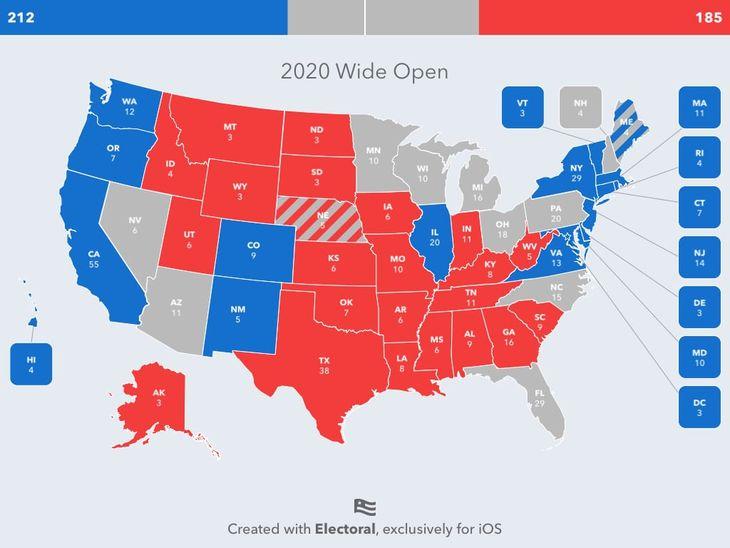 Wargaming the Electoral College - Big Battleground