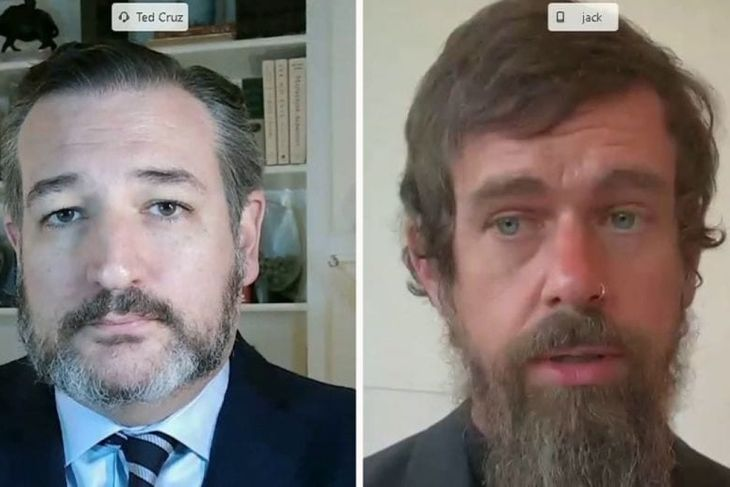 Ted Cruz accuses Twitter boss Jack Dorsey of lying to the Senate
