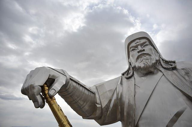 Genghis Khan Removed for Communist China