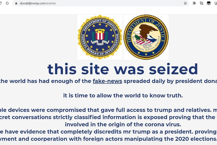 Trump Campaign Website Defaced to Promote XMR Scam