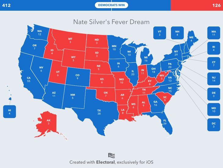 Wargaming the Electoral College: Biden Blowout