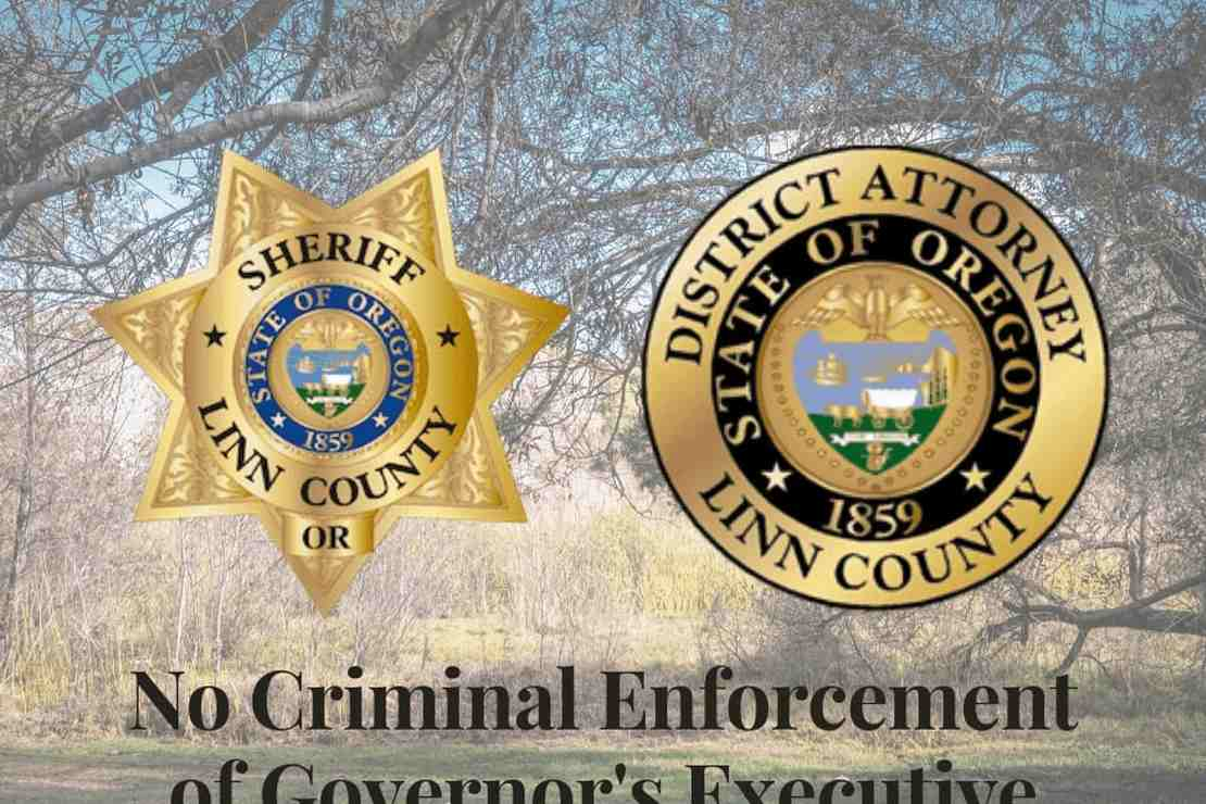 Oregon County Sheriff and DA Draw the Thin, Blue Line: They Will Not Enforce Criminal Penalties For China Virus Violations [UPDATE: More Counties Refuse COVID Lockdown Order]