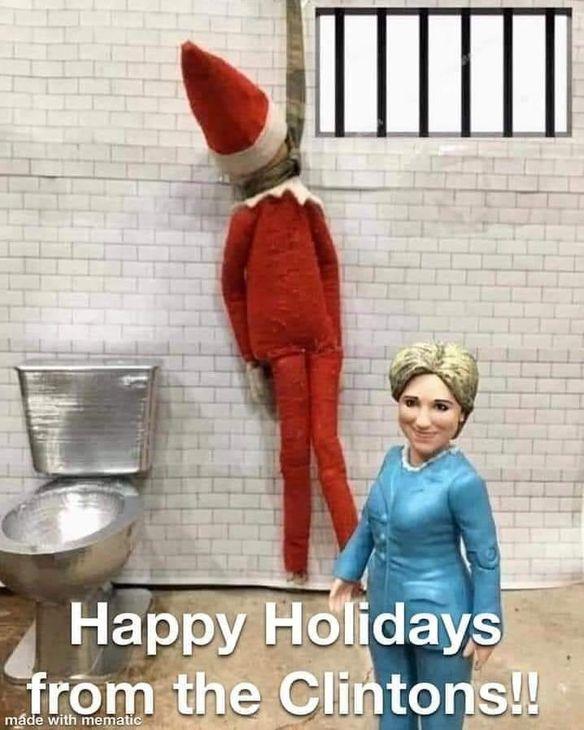 Epstein Didn't Kill Himself Merry Christmas