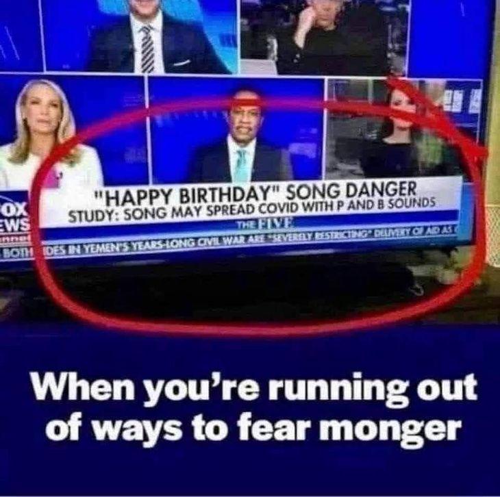 Happy Birthday Song Spreads Coronavirus