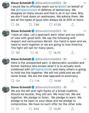 Steve Schmidt AOC Never Trump