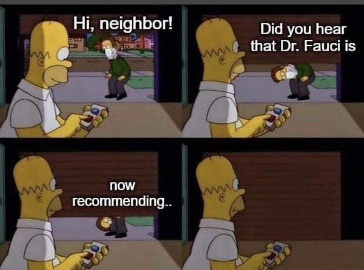 Dr Fauci Recommends