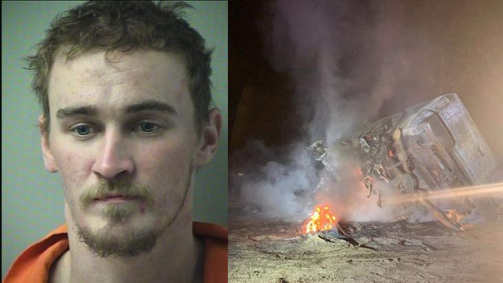 Florida Man Sets Own Truck on Fire