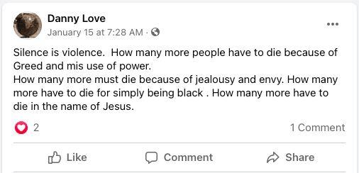 Jesus is black church vandalism cop killer