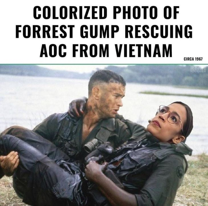 AOC AND FORREST GUMP