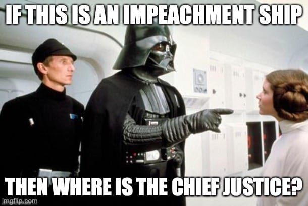 Insanity Wrap Knows an Impeachment When We Don't See One